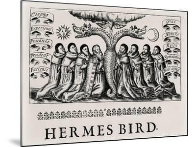The Hermes Bird, from 'Theatrum Chemicum', 1652--Mounted Giclee Print