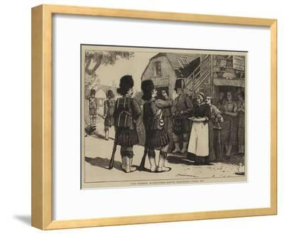 The Summer Manoeuvres, Route Marching, Fall In!--Framed Giclee Print