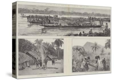 Mr H M Stanley's Emin Pasha Relief Expedition--Stretched Canvas Print