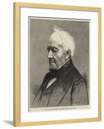 The Late Lord Chief Baron Sir Fitzroy Kelly--Framed Giclee Print