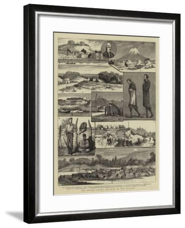 The Recent Native Troubles in New Zealand--Framed Giclee Print