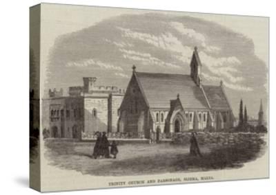 Trinity Church and Parsonage, Sliema, Malta--Stretched Canvas Print