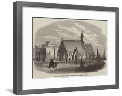 Trinity Church and Parsonage, Sliema, Malta--Framed Giclee Print