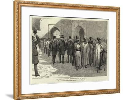 The Special Mission to the Court of Morocco--Framed Giclee Print