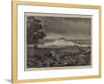 Ruins of the Lantern of Diogenes, St Cloud--Framed Giclee Print