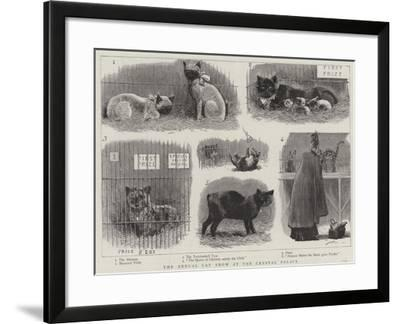 The Annual Cat Show at the Crystal Palace--Framed Giclee Print