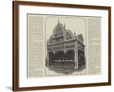 Advertisement, Messers Ransomes' Lawn Mowers--Framed Giclee Print