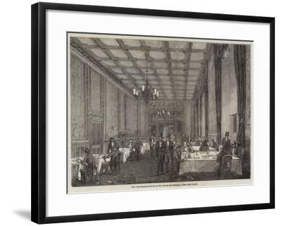 The Refreshment-Room at the House of Commons--Framed Giclee Print