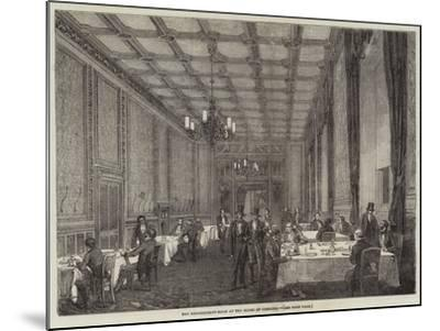 The Refreshment-Room at the House of Commons--Mounted Giclee Print