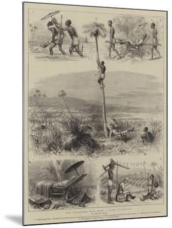 The Ashantee War, How I Took Coomassie--Mounted Giclee Print