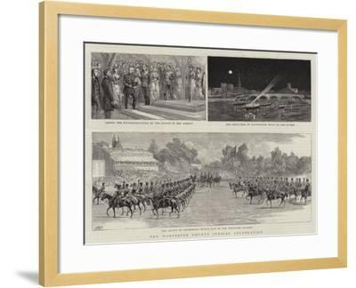 The Worcester County Jubilee Celebration--Framed Giclee Print