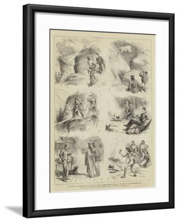 Life in Manitoba, British North America--Framed Giclee Print