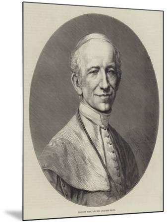 The New Pope, Leo XIII (Joachim Pecci)--Mounted Giclee Print