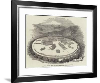 The War Prison, Near Toy-Royal, Dartmoor--Framed Giclee Print