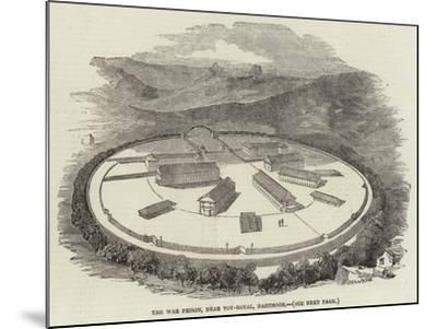 The War Prison, Near Toy-Royal, Dartmoor--Mounted Giclee Print