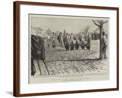 The Fear of the Camera in South Africa--Framed Giclee Print