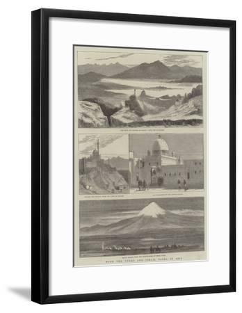 With the Turks and Ismail Pasha in Asia--Framed Giclee Print