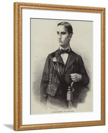 His Majesty George I, King of the Greeks--Framed Giclee Print