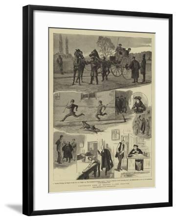 University Life at Oxford, I, the Proctor--Framed Giclee Print