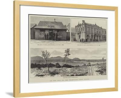 On the Way to the Transvaal Gold Fields--Framed Giclee Print