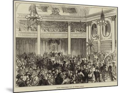Grand Fancy-Dress Ball at Dublin Castle--Mounted Giclee Print