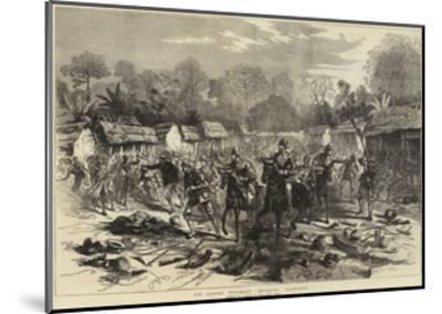 Sir Garnet Wolseley Entering Coomassie--Mounted Giclee Print