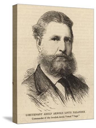 Lieutenant Adolf Arnold Louis Palander--Stretched Canvas Print