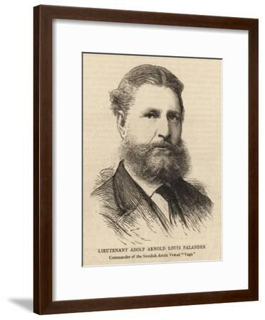 Lieutenant Adolf Arnold Louis Palander--Framed Giclee Print