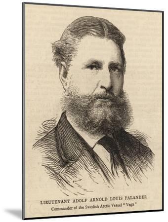 Lieutenant Adolf Arnold Louis Palander--Mounted Giclee Print