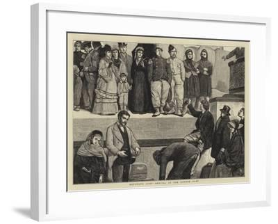 Boulogne Quay, Arrival of the London Boat--Framed Giclee Print