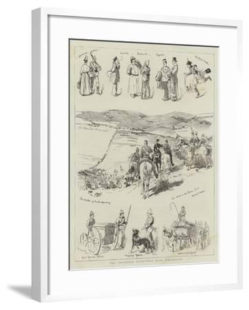 The Volunteer Manoeuvres Near Portsmouth--Framed Giclee Print