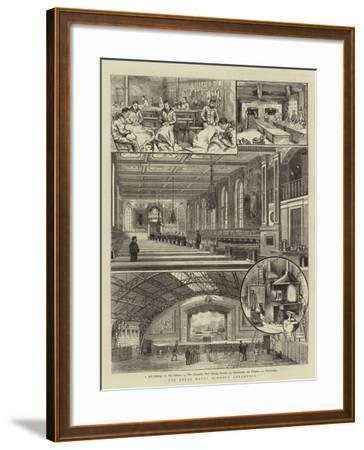 The Royal Naval Schools, Greenwich--Framed Giclee Print