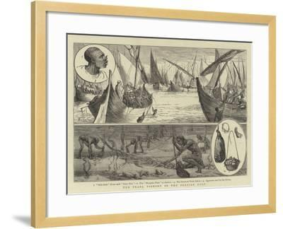 The Pearl Fishery in the Persian Gulf--Framed Giclee Print