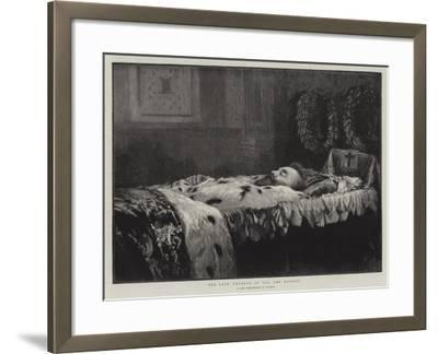 The Late Emperor of All the Russias--Framed Giclee Print