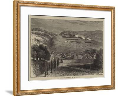 The Attack on Saarbruck by the French--Framed Giclee Print