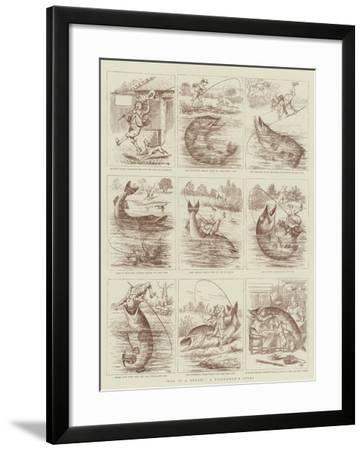 Was it a Bream?, a Fisherman's Story--Framed Giclee Print