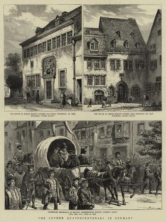 The Luther Quatercentenary in Germany--Giclee Print