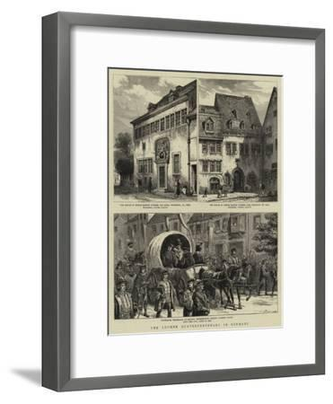 The Luther Quatercentenary in Germany--Framed Giclee Print