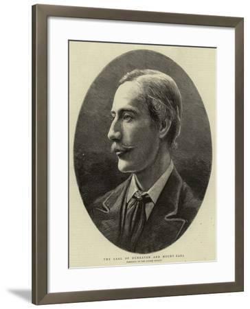 The Earl of Dunraven and Mount Earl--Framed Giclee Print