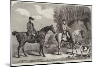 Lord Yarborough's Huntsmen, in 1792--Mounted Giclee Print