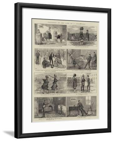 Passages in the Life of a Subaltern--Framed Giclee Print