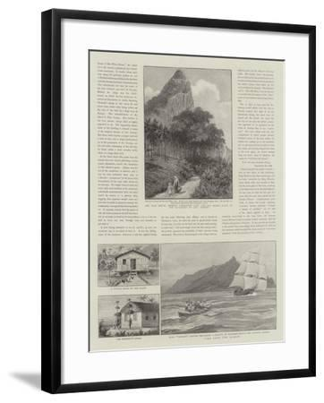 Law and Justice in Pitcairn Island--Framed Giclee Print