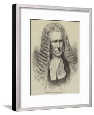 Lord Justice Sir William Page Wood--Framed Giclee Print