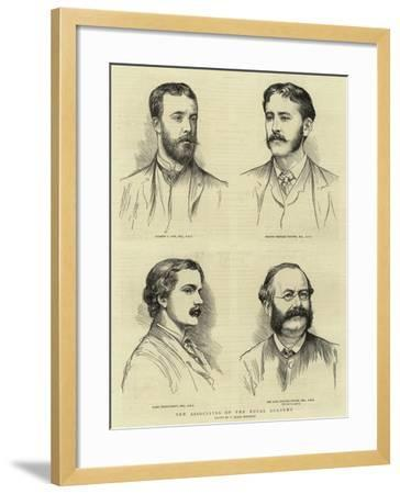 New Associates of the Royal Academy--Framed Giclee Print