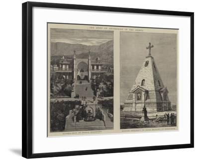 The Duke of Edinburgh in the Crimea--Framed Giclee Print