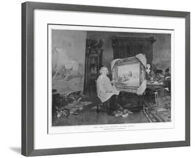 The Late Rosa Bonheur in Her Studio--Framed Giclee Print