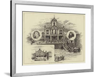 The Duke's Theatre, Dorset Gardens--Framed Giclee Print