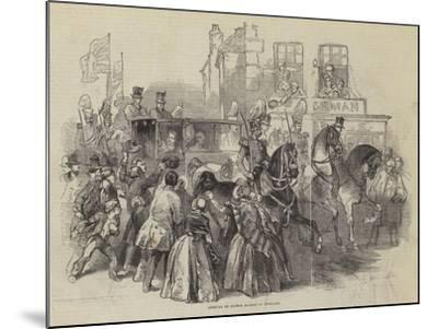 Arrival of Prince Albert in England--Mounted Giclee Print