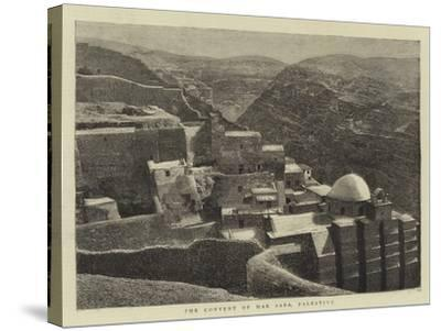 The Convent of Mar Saba, Palestine--Stretched Canvas Print