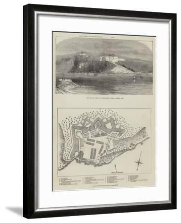 The Isle and Fort of St Marguerite--Framed Giclee Print